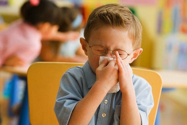 При первых симптомах гриппа оставьте ребенка дома