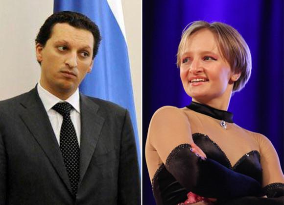 С бывшей женой Екатериной Тихоновой