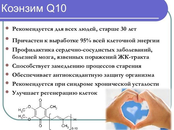 Чем полезен Коэнзим q10