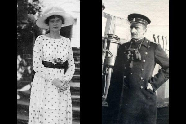 Александр Колчак с женой Софьей