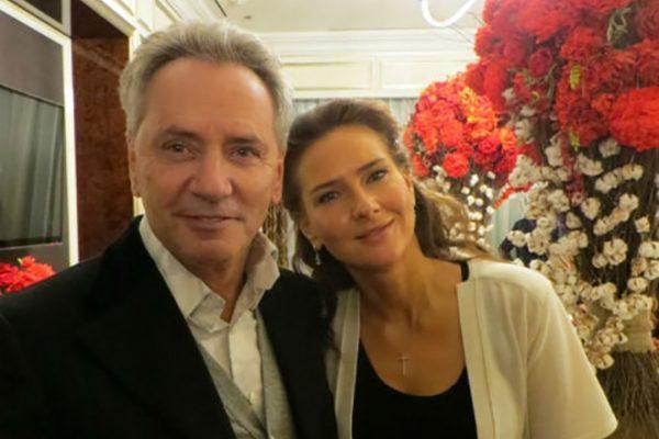 С мужем Владимиром Киселевым