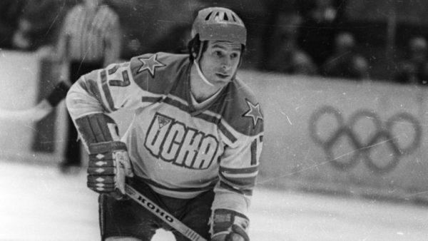 Карьерой хоккеиста Харламов обязан своему отцу