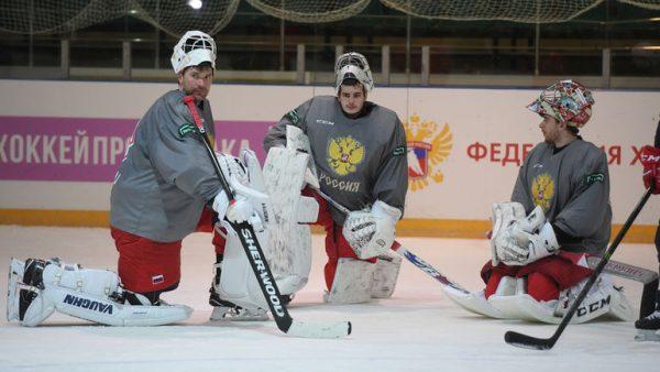 Василий Кошечкин на льду
