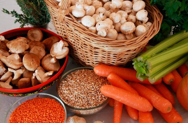 Продукты питания в пост, фото