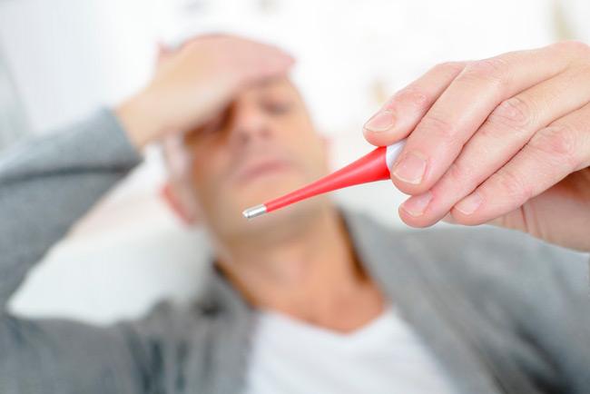 Асептический менингит сопровождается лихорадкой и ознобом