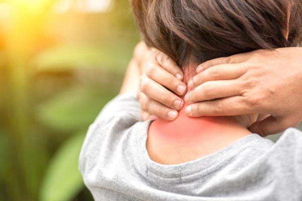 Сильная боль в области шейного отдела позвоночника