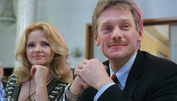 С бывшим мужем Дмитрием Песковым