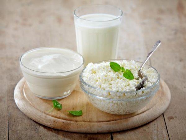В12 в молочных продуктах