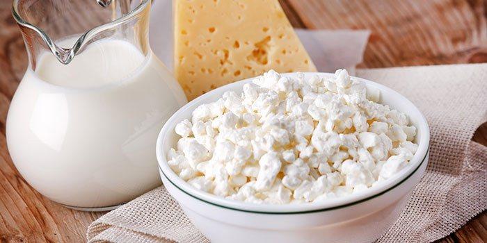 Витамин Д в молочных продуктах