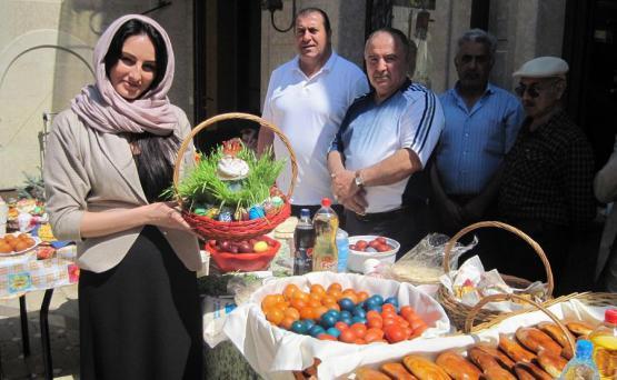 Как армяне празднуют Пасху