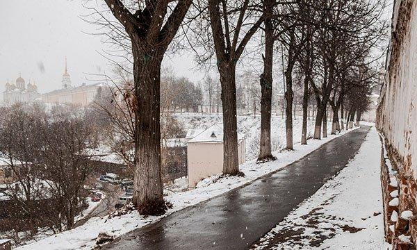 Погода в Москве - апрель 2018