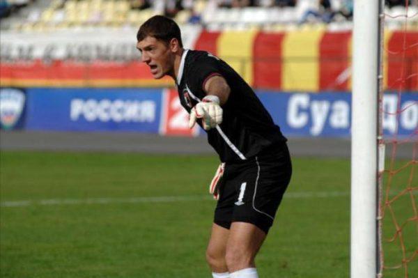 Бывший вратарь владикавказской «Алании» Дмитрий Хомич