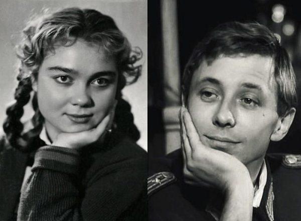 Нина Дорошина и Олег Даль