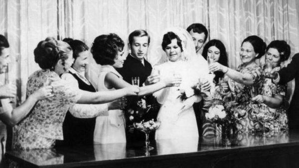Свадьба Сергея Скрипаля и его жены Людмилы