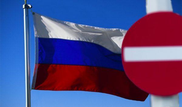После введения санкций произошло падение курса рубля в РФ