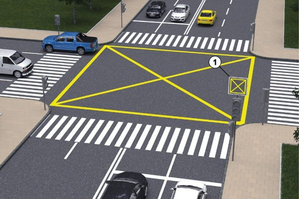 Новая разметка на дорогах
