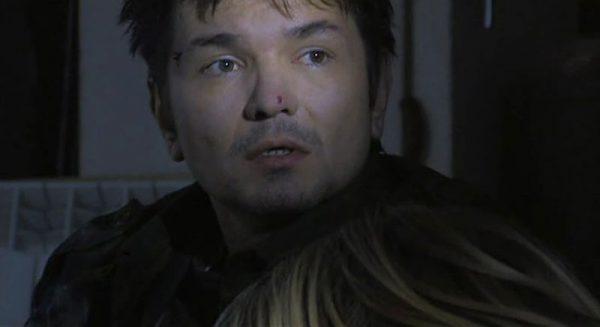 Актер на съемках фильма