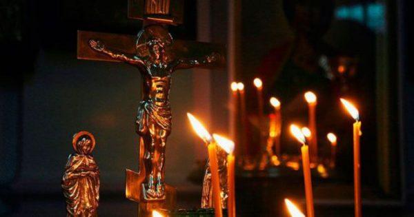 Свечи за упокой души в церкви