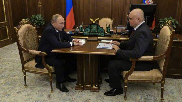 Владимир Путин назначил Сергея Цивилева вице-губернатором Кемеровской области