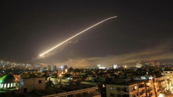 Обстрел Сирии 14 апреля