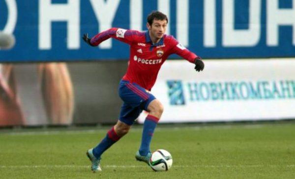 Алан Дзагоев в составе ЦСКА