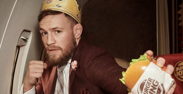 МакГрегор снялся в рекламе Burger King