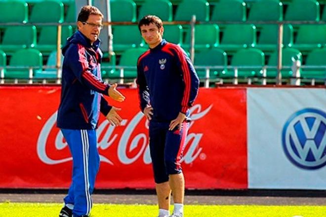 Тренировка национальной сборной России
