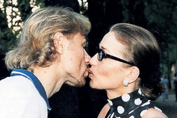 Валерий Карпин с первой женой Светланой