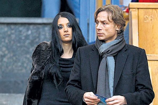 Валерий Карпин со второй женой Альбой Фернандес