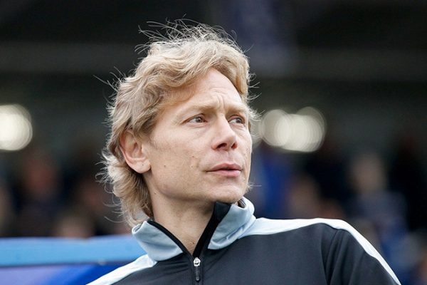 Валерий Карпин в сборной России