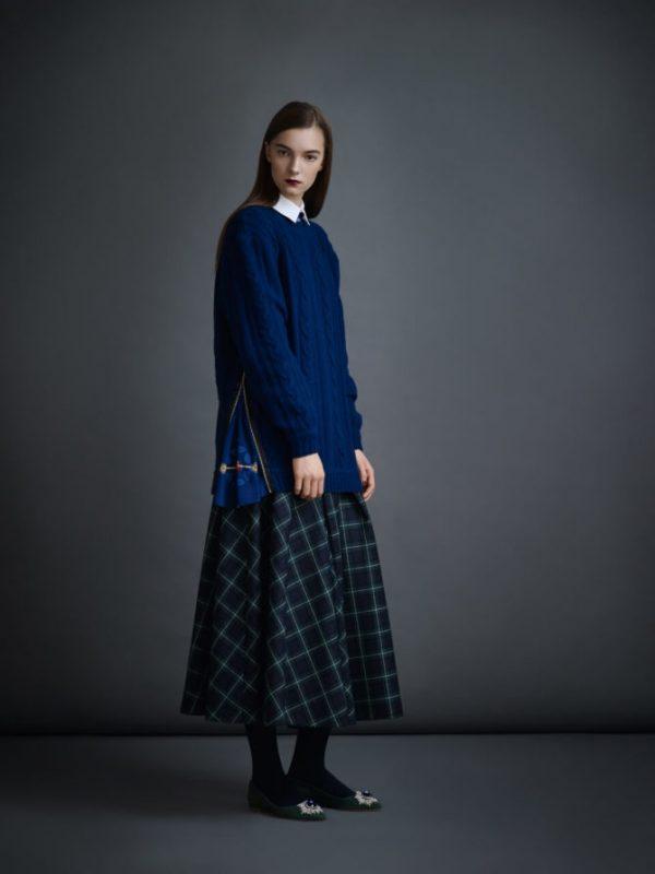 Модная юбка макси