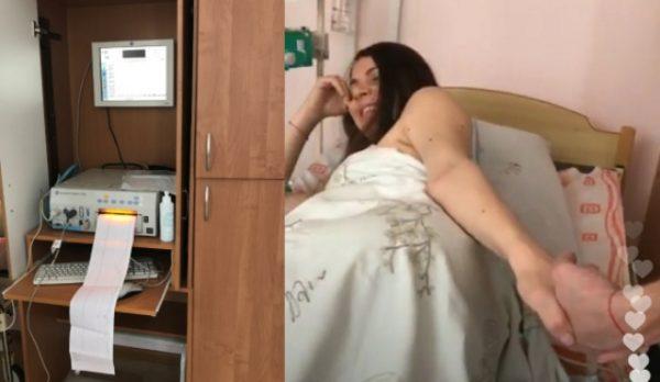 Ольга Рапунцель родила в прямом эфире