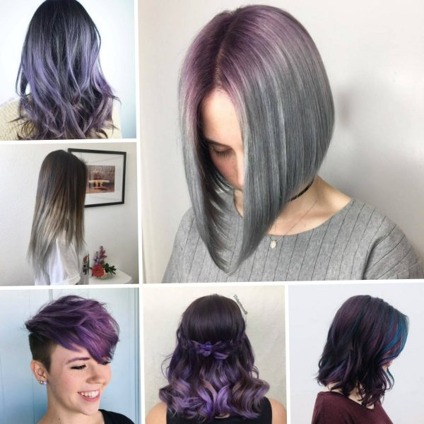 Purple-Hair-Colors-for-Short-Hair-in-2018