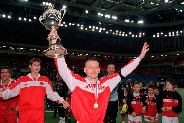 Андрей Тихонов был одним из лучших футболистов «Спартака» во второй половине 90-х