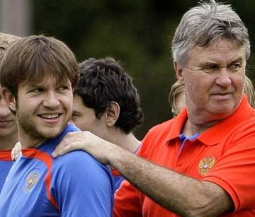 Иван Саенко со своим тренером