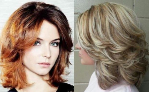 Стрижка каскад на короткие волосы 2018: вид спереди и сзади, фото