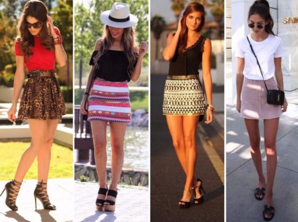 Модные юбки с яркими принтами