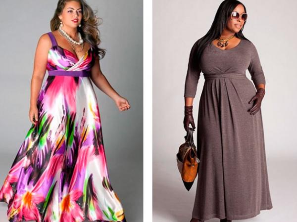 Фасоны платьев для полных женщин с животом после 50 лет: правила выбора