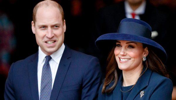 После роддома Кейт Миддлтон с отправилась с мужем в королевский дворец