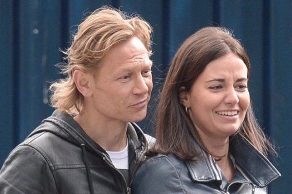 Валерий Карпин и Дарья Гордеева