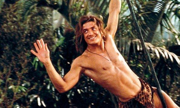 Брендан Фрэйзер в комедии «Джордж из джунглей»