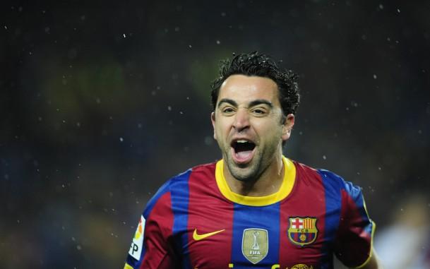 Хави играет за Барселону