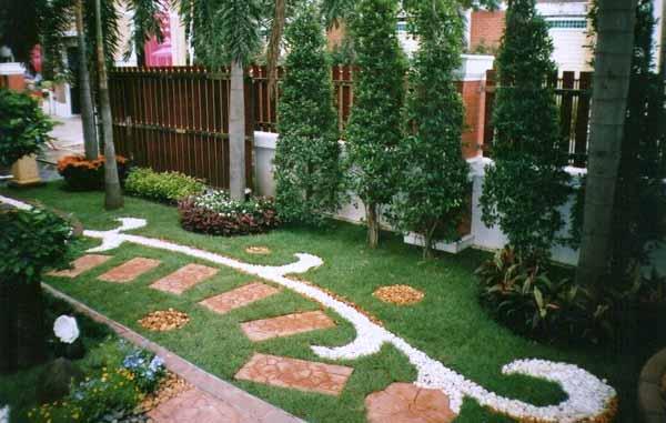 Как организовать садовые дорожки