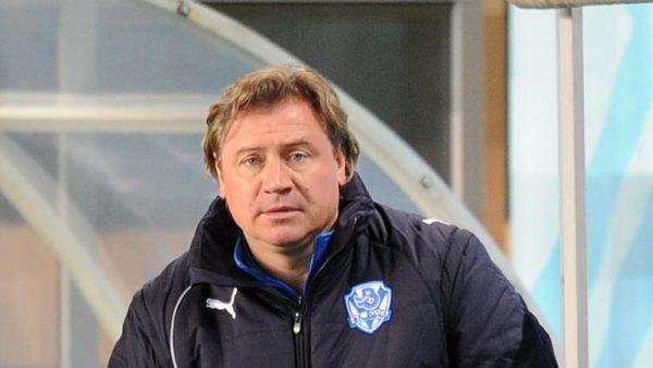 Тренер Андрей Канчельскис