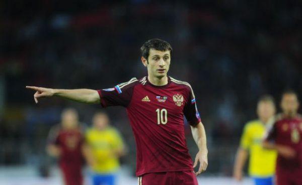 Алан Дзагоев в составе сборной России