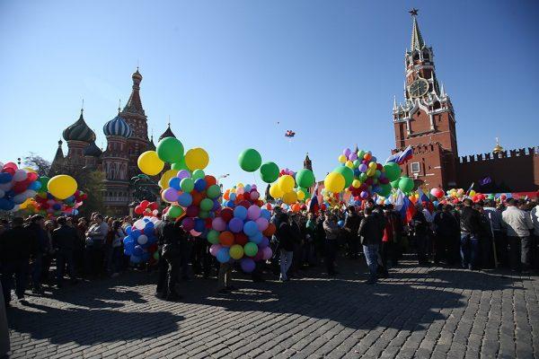 Майские праздники 2018 в Москве