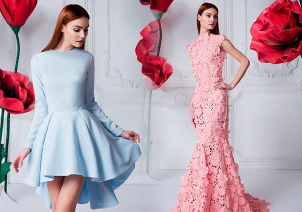 Длина платьев на выпускной может быть разной