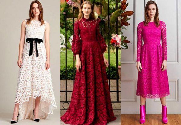 Модные платья разной длины