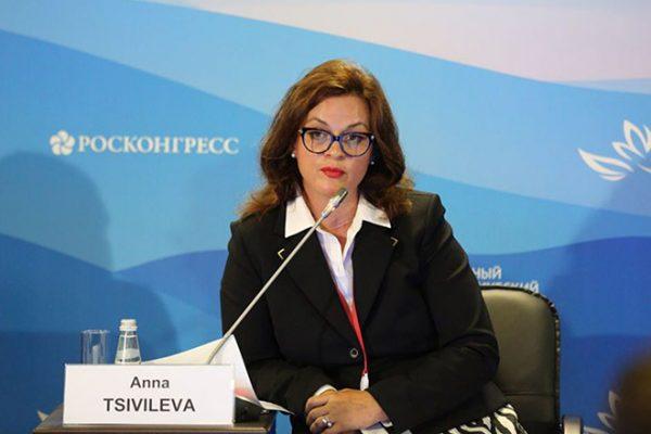 Жена Сергея Цивилева Анна