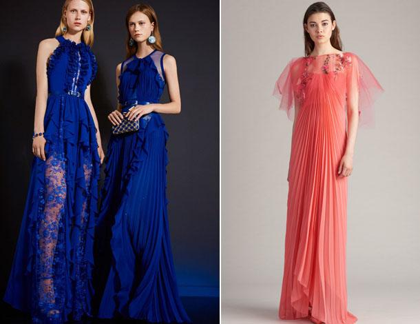 Модные полупрозрачные платья